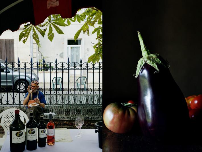 aubergine&tomato